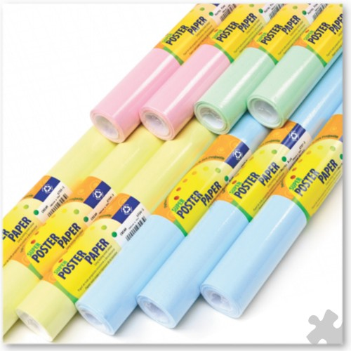 Poster Paper - Pastel Assortment