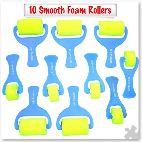 10 Smooth Foam Rollers