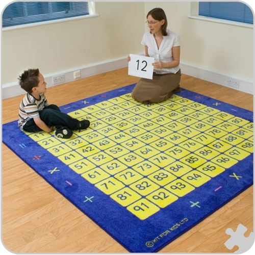 100 Square Counting Grid Mat Mat001 163 151 99 Schools