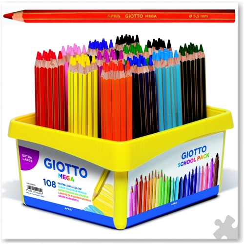 108 Giotto Mega Pencils