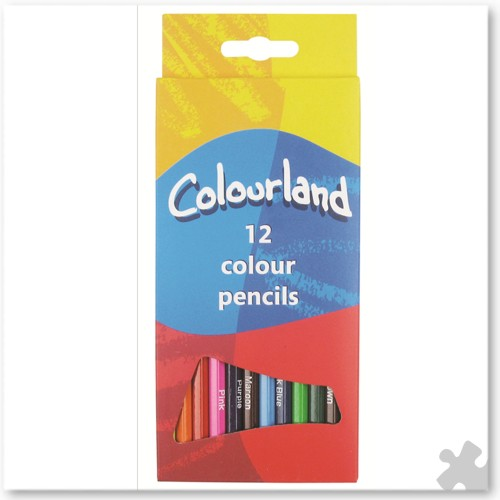 12 Colourland Colouring Pencils