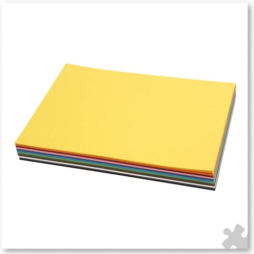 A4 Card Assorted Colours, 120 sheets