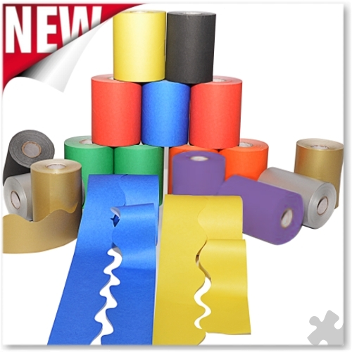 Scalloped Edge Border Rolls - 18 Roll Assortment