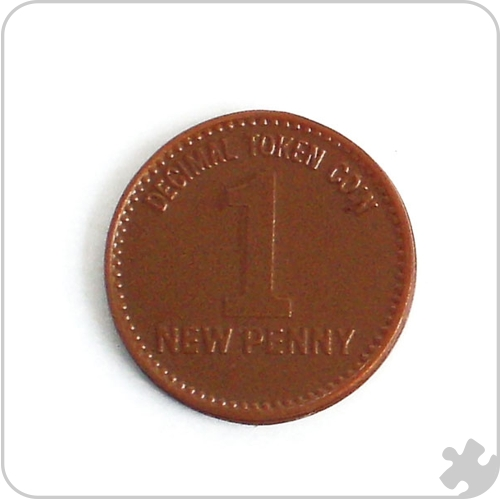 1p Coins Play Money