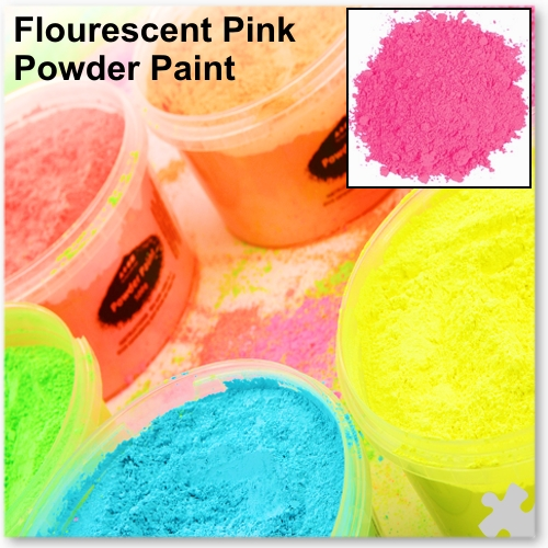 Fluorescent Pink Powder Paint, 2kg