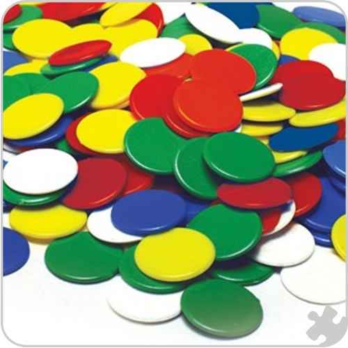 22mm Counters, Bag of 500