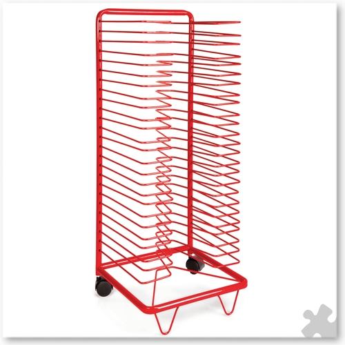 25 Level Drying Rack on Casters