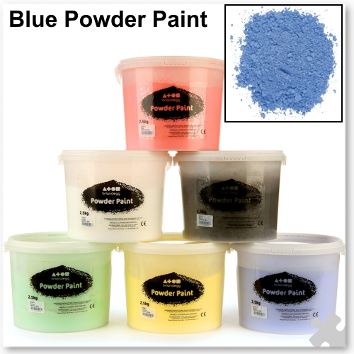 Brilliant Blue Powder Paint, 2.5kg