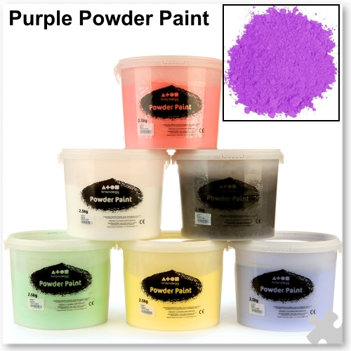 Purple Powder Paint, 2.5kg