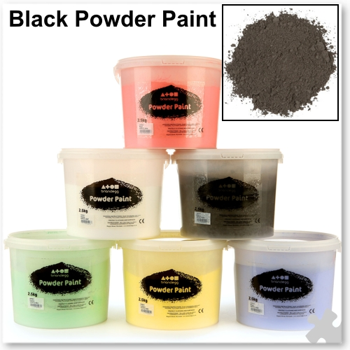 Black Powder Paint, 2.5kg