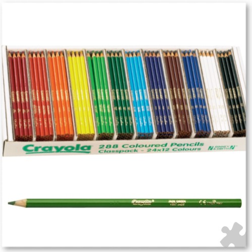 288 Crayola Coloured Pencils
