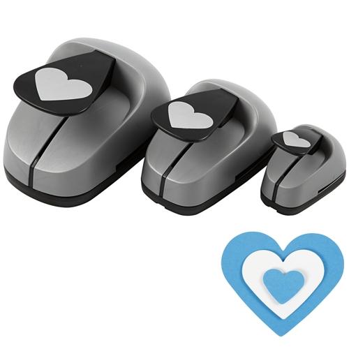 Paper Punch Set - Hearts