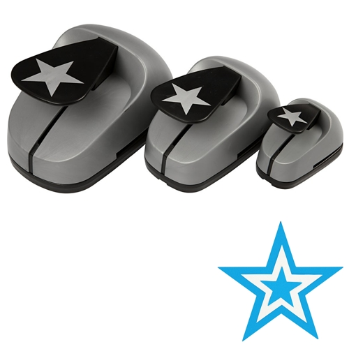 star paper punch Extra small heart & star punch set $999 quick view hello paper punch - large $1699 quick view ®2017 hobby lobby.