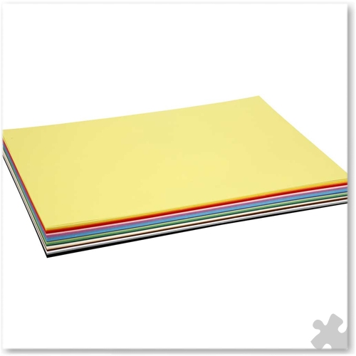 A2 Card Assorted Colours, 300 sheets