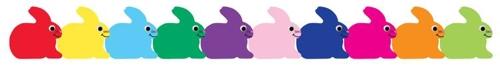 Bunnies die cut trimmers