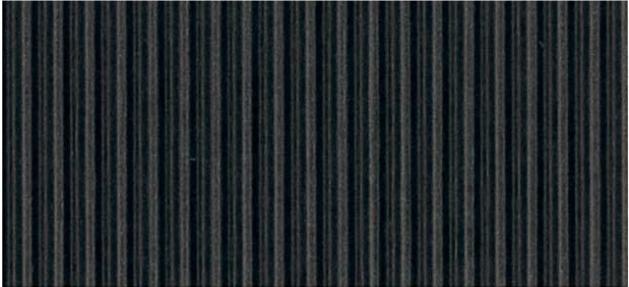 Black straight cut Bordette