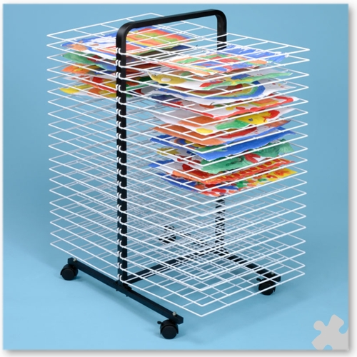 40 Shelf A2 Mobile Drying Rack