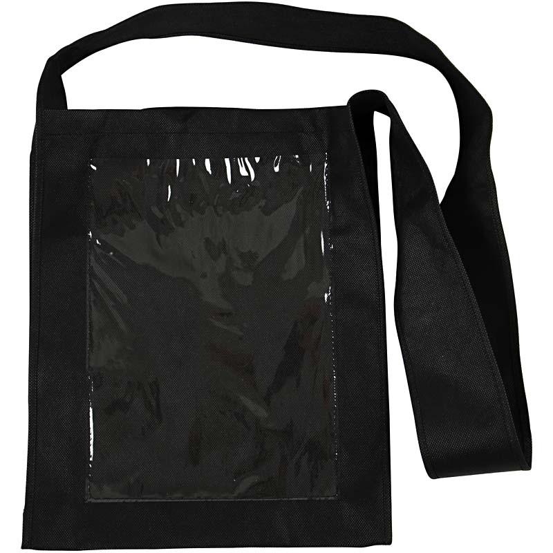20 Large Bags with long handle and Plastic Front