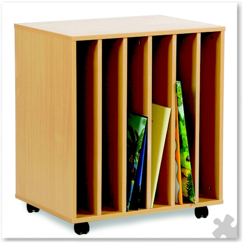 6 Slot Big Book Holder