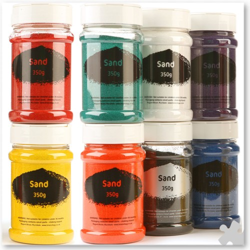 Coloured Craft Sand