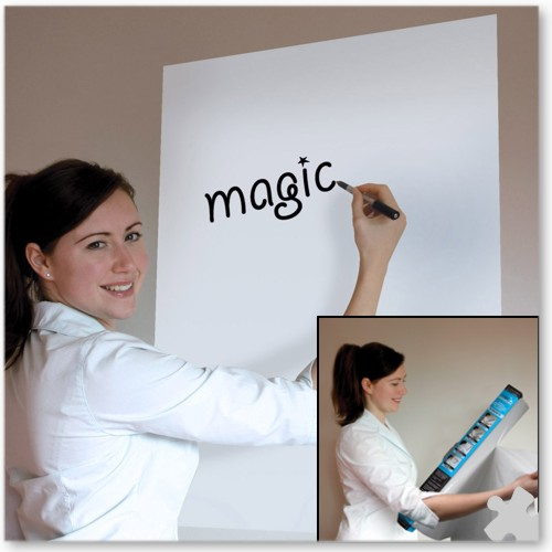 A1 Plain White Magic Whiteboard - 25 sheet roll