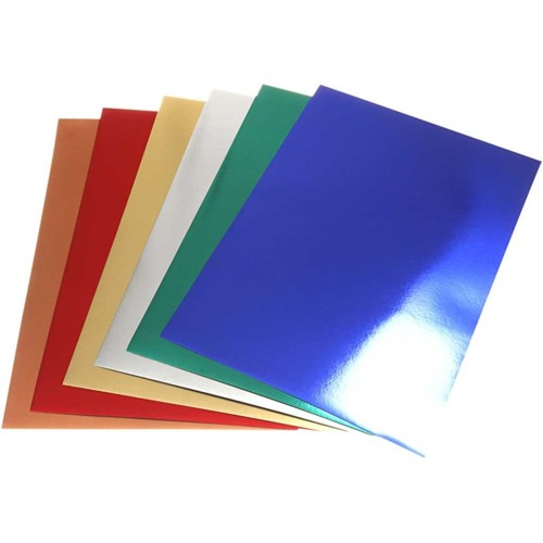 A2 Metallic Card in Assorted Colours