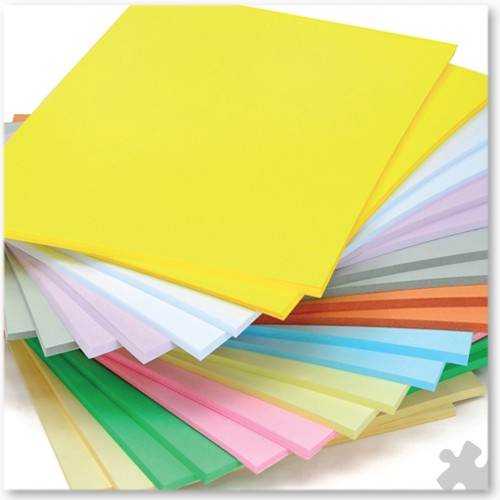 A4 Light Weight Card in Pastel Colours, 500 Stackpack