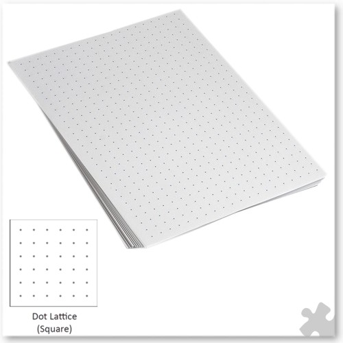 A4 10mm Square Dot Lattice