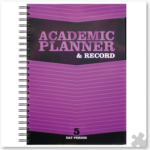 Teacher Academic Planner & Record 5 Period