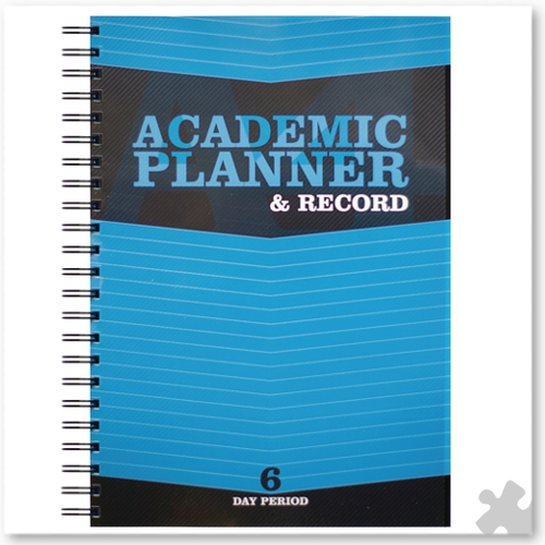 Teacher Academic Planner & Record 6 Period