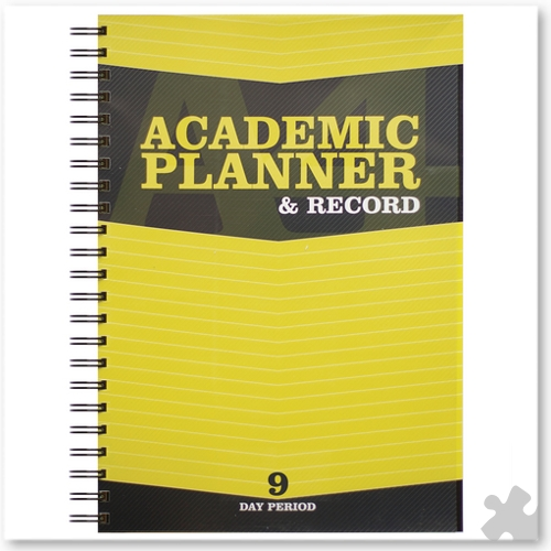 Teacher Academic Planner & Record 9 Period