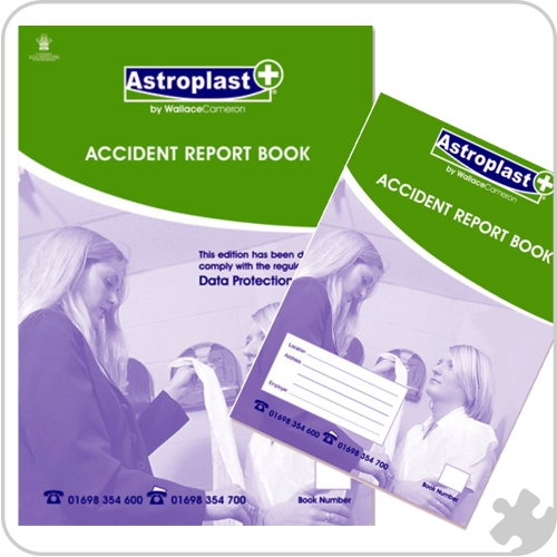 Accident Report Book , A5