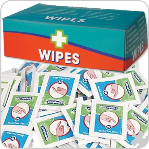 Alcohol Free Wipes, 100 Pack