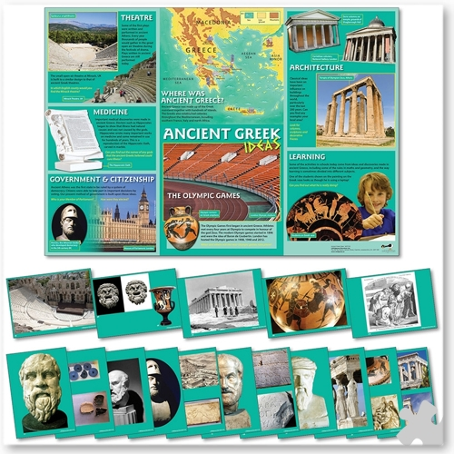 Ancient Greeks Ideas Poster & Photopack