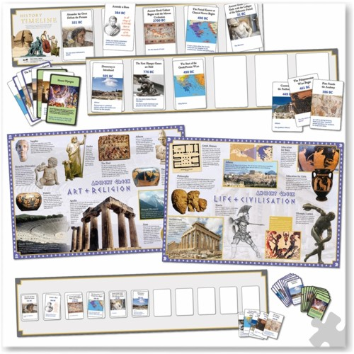 Ancient Greece Interactive Timeline Class Pack