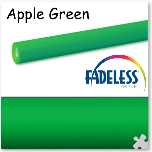 Apple Green - 15m Roll of Fadeless Display Paper