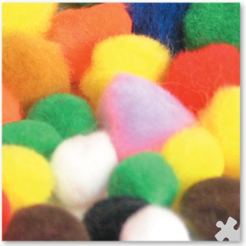 Pom Poms in Assorted Sizes 10, 18 & 25mm