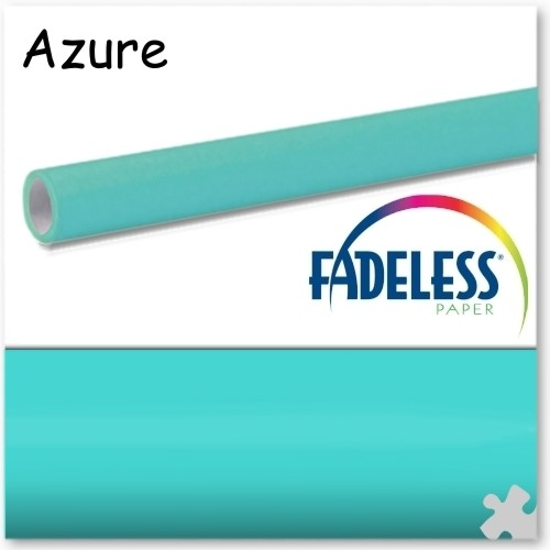Azure Fadeless Display Paper, 609mm x 3.6m