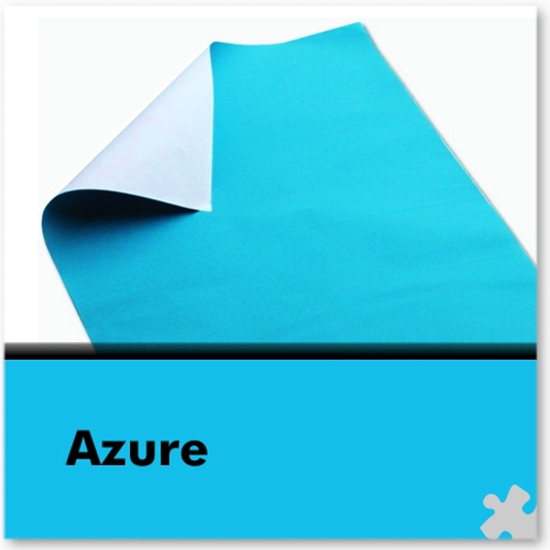 Azure Poster Paper Sheets