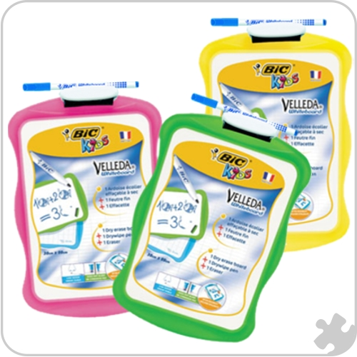 BIC Kids Whiteboards, 20 x 31cm