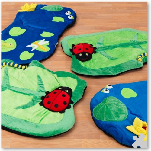 4 Back to Nature Snuggle Mats