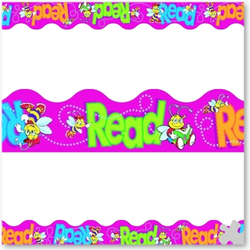 Bee A Reader Terrific Trimmer Borders