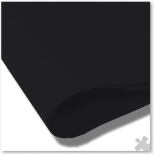 Black Tissue Paper, 10 Sheets