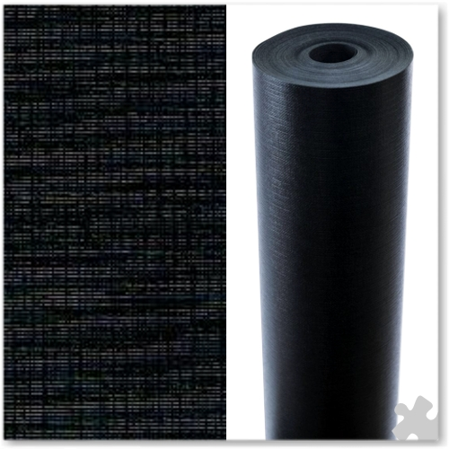 Black Embossed Display Paper - 25m roll