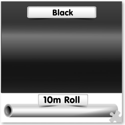 Black Poster Paper 10m Roll