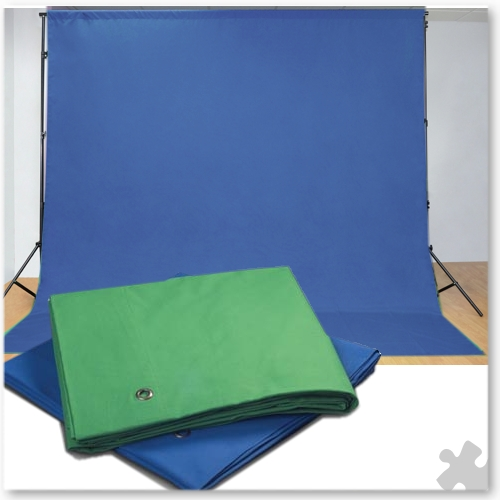 Chroma Key Fabric Blue