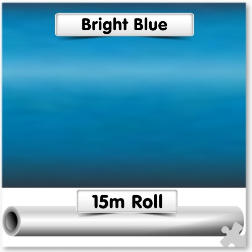 Bright Blue Super-Wide Poster Paper 15m Roll