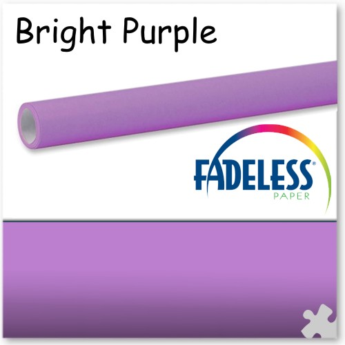 Bright Purple Fadeless Display Paper - 15m Roll