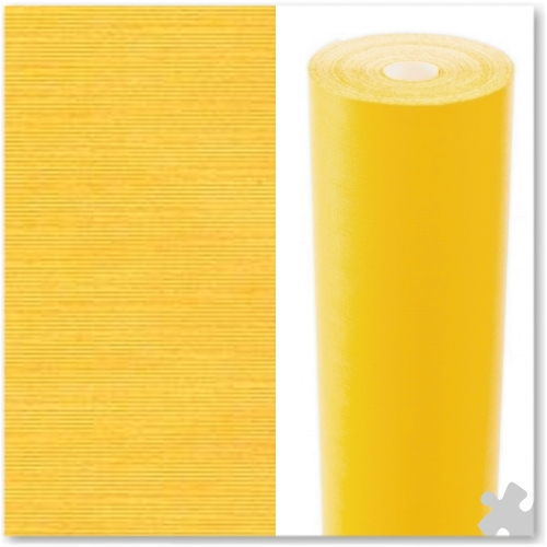 Bright Yellow Embossed Display Paper - 25m roll