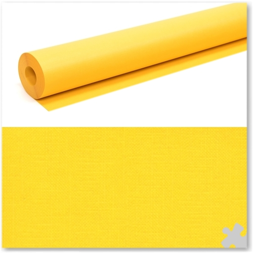 Yellow Milskin Frieze Display Paper Roll